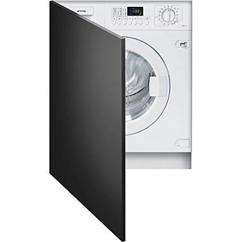 Smeg lst147–Unterstützt 2integriertem Bevor 7kg 1400tr/min A + + weiß Waschmaschine–Waschmaschinen (integriertem, bevor Belastung, weiß, Knöpfe, drehbar, links, LED)