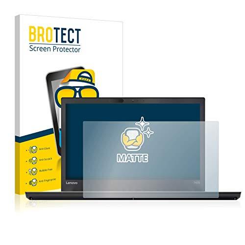 BROTECT Entspiegelungs-Schutzfolie kompatibel mit Lenovo ThinkPad T470 Bildschirmschutz-Folie Matt, Anti-Reflex, Anti-Fingerprint