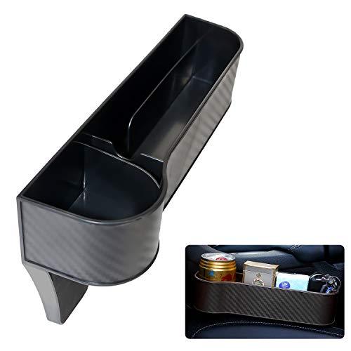 Osugin Aufbewahrungs Schlitz Box für Auto Sitze, Aufbewahrungs Box für Multifunktionale Schlitze, Aufbewahrungs Box für Carbon Faser Halter Finisher