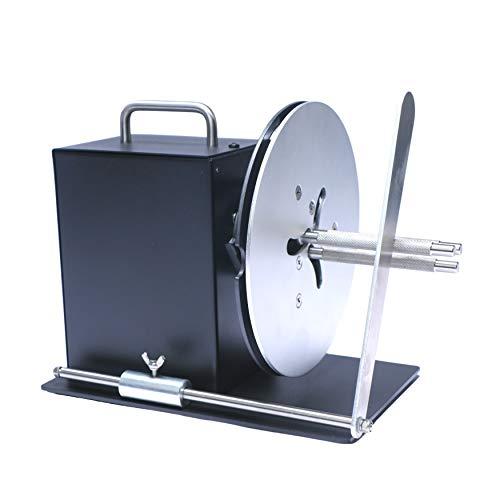 "U.S. Solid Automatic Label Rewinder Machine, Adjustable Core Holder 1""- 3"", Label Width 100 mm, Roll Diameter 185 mm"