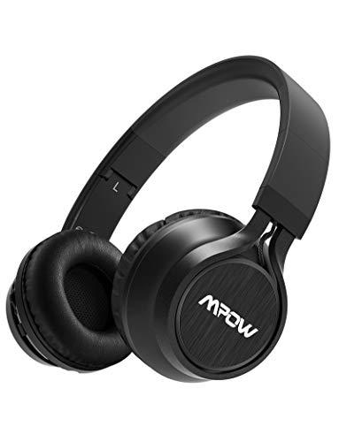 Mpow Thor Cuffie Bluetooth, Cuffie Over Ear Pieghevole, Auricolari Wireless Senza Fili, Cuffie Con Microfono Incorporato, Cuffie Wireless Con Audio Hi-Fi, Cuffie Bluetooth Per Cellullari/PC/TV