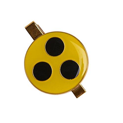 Pflegehome24® Blindenplakette mit Befestigungsklemme aus Metall