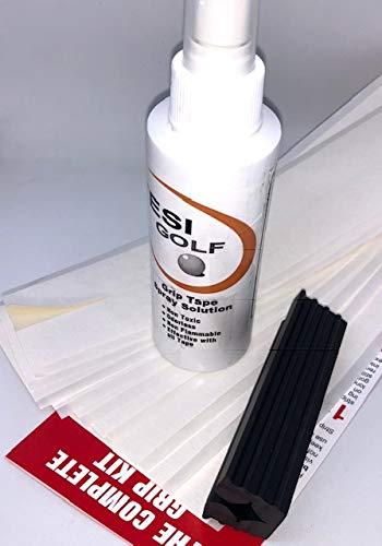 Tesi Golf Unisex– Erwachsene Gripkit Golf Griff Montageset, Mehrfarbig, normal