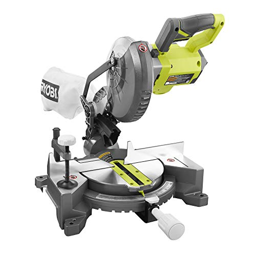 Ryobi EMS190DCL ONE+ Mitre Saw, 18 V (Body Only)