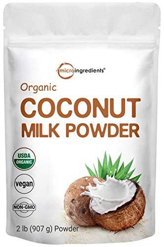 Micro Ingredients Organic Coconut Milk Powder, 2 Pound (32 Ounce),...