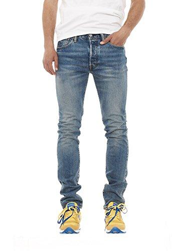 Levi's 501 Skinny jeans uomo 34268 0002 Hillman 34268 0007 Dillinger (W30L34, DILLINGER)