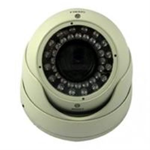 Vonnic C506B 1/3-Inch Sony CCD 550 TV Lines 36 IR LED 120-Feet 2.8-12mm Varifocal Night Range IP66 Vandal Proof Dome Security Camera (Black)