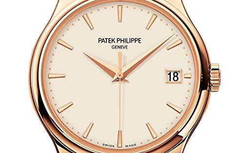 Patek Philippe Calatrava Rose Gold 5227R-001 with Ivory Lacquereddial