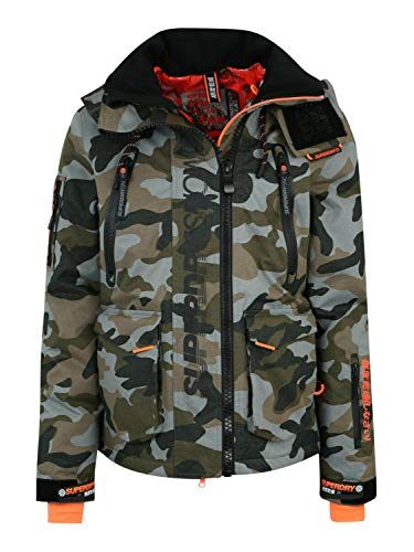 Superdry Ultimate Rescue Herren Schneejacke L Rock Camo