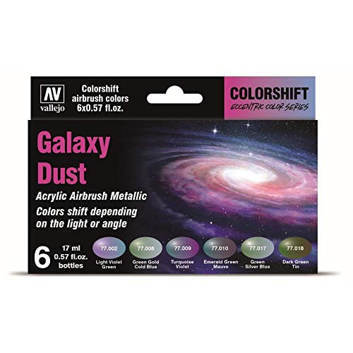 VALLEJO Galaxy Dust Acrylic Airbrush Paints