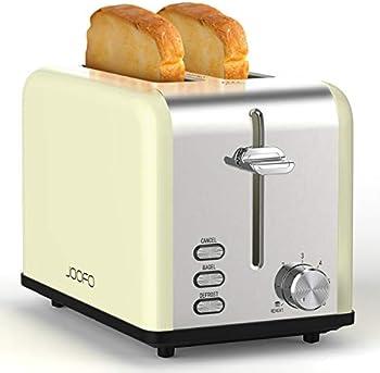 JOOFO 2 Slice 6 Bread Shade Settings Bread Toaster