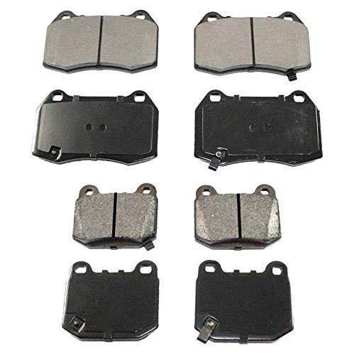 Brake Pads With Brembo Braking System for Nissan 350Z 04-09 Infiniti G35 03-04