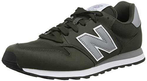 New Balance 500, Zapatillas Hombre, Verde (Dark Green/Grey Dgg), 40 EU