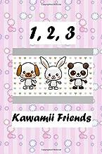 1, 2, 3: Mon premier livre de chiffres - Parlez anglais avec Kawamii Friends!