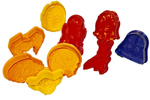 MSC Star Wars Moldes 9TL. Plastilina Moldes Decoración para tartas fondant mazapán