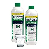 Prevention Daily Care Alcohol Free Mouth Wash Liquid – No Burn Alcohol Free Mouthwash Formula – Superior Quality – Non Alcoholic Mouth Wash for Kids & Adults – Value Pack of 2