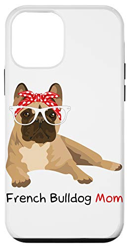 iPhone 12 mini French Bulldog Mom Bandana Womens Frenchie Case