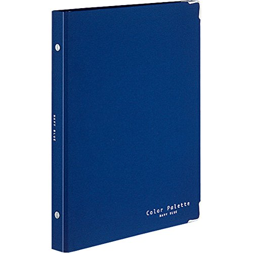 Kokuyo Binder notebook color palette Middle 26 holes B5 Vertical navy Lumpur -311 – 3Z