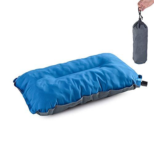 Vlook Selbstaufblasendes Campingkissen, tragbare Kissen für die Mittagspause, mit Aufbewahrungstasche, komfortabel und stressfrei, für Reisen, Flugzeuge, Strandhängematten