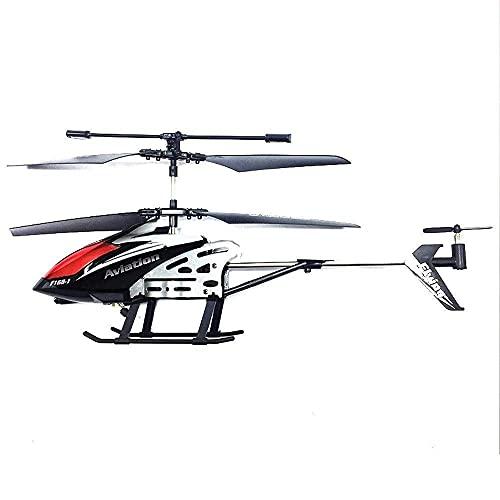 Helicóptero de Control Remoto Juguetes 3.5 CH Gyro Incorporado Anticolisión RC Drone Toy con navegación de luz LED y estabilizador de giroscopio