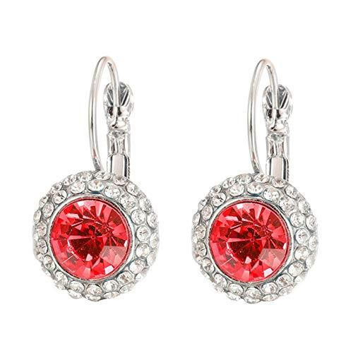 Yosemite Pendientes personalizados para mujer con círculos trenzados, geométricos, pendientes de moda, pendientes de piercing 1 #