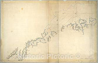 Historic Map - c1770 Long Island, New York, (N.Y.) New York Island & North River, East River, Hell Gate, Flushing Bay, Hampstead Bay, Oyster Bay, Huntington Bay, Vintage Wall Décor - 66in x 44in