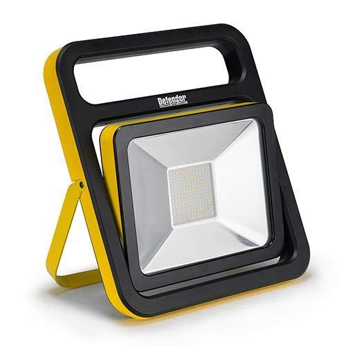 Defender Power & Light E206014 Defender 110V 50W Slimline LED Light C/W Folding Stand