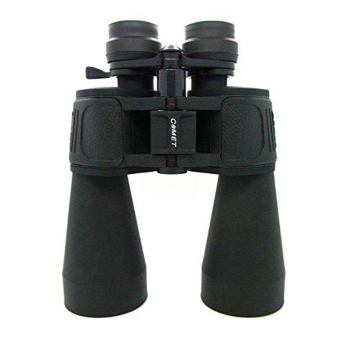 COMET Fernglas Feldstecher 10x-90x80 Binocular Zoom Dioptrienausgleich Fernglas mit Putztuch und Tasche