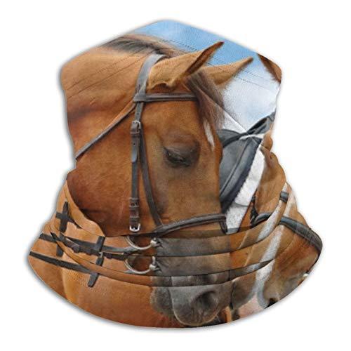 Stylish Home Bufanda multifuncional sin costuras de caballo pañuelo - pasamontañas elástico