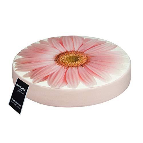 SANDINI Sitzkissen Blumenmotiv – Für Garten/Wohnräume – Bodenkissen für Kinder - 38 x 6 cm