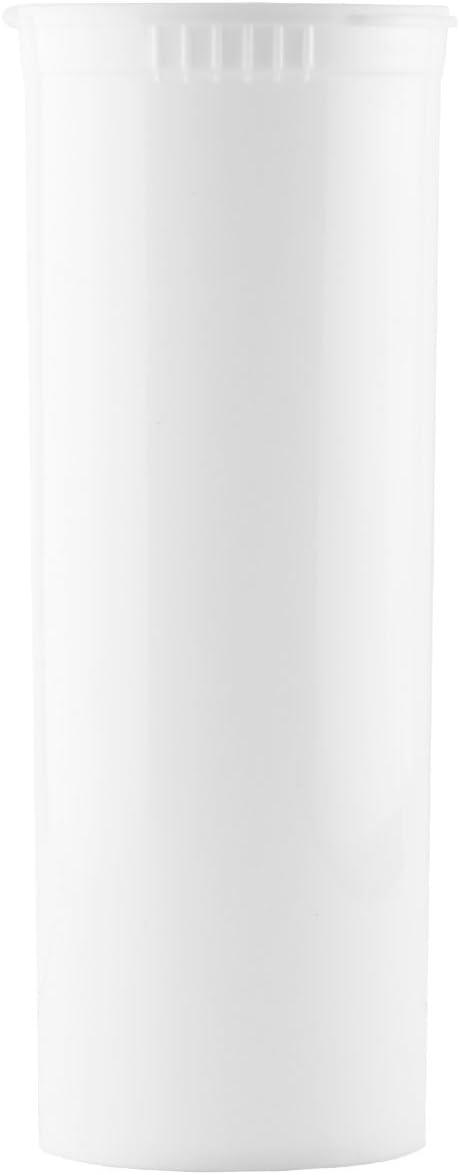 Child Resistant ☆新作入荷☆新品 Pop Top Containers - Dram 1 日時指定 White 60 Case