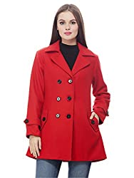 Peptrends Womens Regular Fit Coat