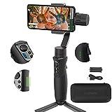 Hohem iSteady Mobile Plus Handheld Smartphone Gimbal Estabilizador de mano de 3 ejes para iPhone X...