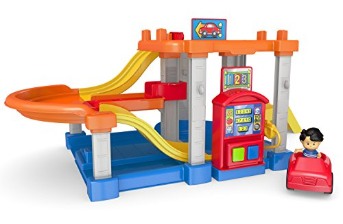 Fisher-Price Mattel CHF61 - Little People Autocenter
