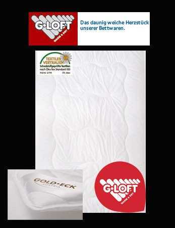 Sonderpreis Gold Eck Alaska Duo Winterdecke Bettdecke Warm Mit G Loft Fasern Baumwollbezug 200x200 Cm Statt Euro 120