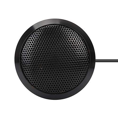 Qioniky 360 ° Tonaufnahme USB-Mikrofon, USB-Konferenzlautsprecher, Konferenzmikrofon, für Konferenzvideo Voice-Chat-Mikrofon Desktop-Mikrofon Office Desktop