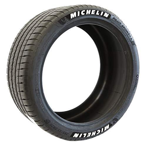 Michelin Pilot Sport 4 S Performance Radial Raised White Letter Tire - 265/35 ZR18 97Y