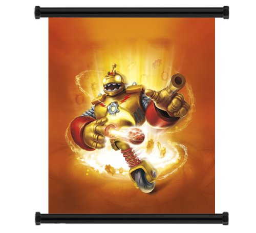 Skylanders Giants Game Fabric Wall Scroll Poster (16' x 17') Inches