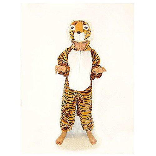Inconnu Déguisement Enfant Tigre - 5/6 Ans