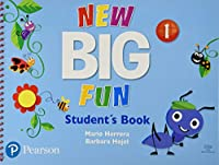 Big Fun Refresh Level 1 Student Book and CD-ROM pack