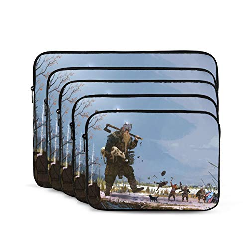 NYIVBE Viking Giant Laptop Sleeve Case Bag for MacBook Pro/MacBook Air/Thinkpad/Notebook Computer