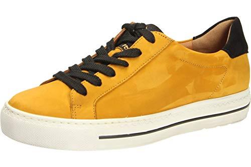 Paul Green 4835 Damen Sneakers Curry/Schwarz, EU 42