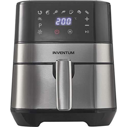 Inventum GF350HLD friggitrice Hot air fryer 3,5 L Singolo Nero, Acciaio inossidabile Indipendente 1500 W