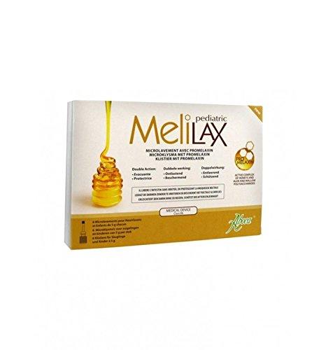 Melilax 6 Microenemas De 10 Gr. de Aboca