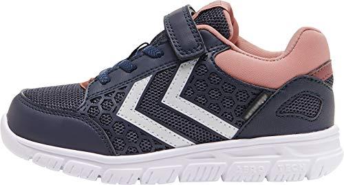 hummel Mädchen Crosslite Mid Jr Sneaker, Graphite, 31 EU