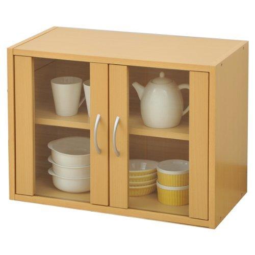 山善『食器棚キッチンボード』