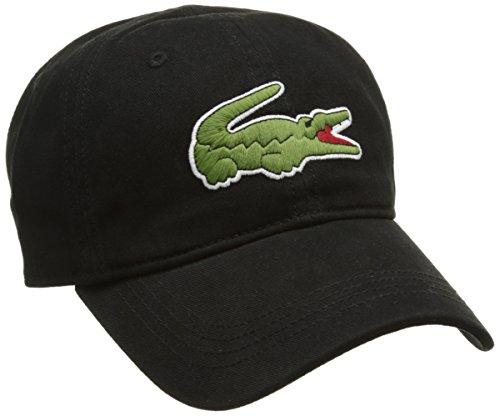 Lacoste Herren Rk8217 Baseball Cap, Schwarz (Noir), One Size (Herstellergröße: TU)