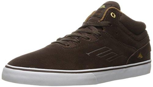 Emerica Herren Westgate MID Vulc Dark Brown Skateboardschuhe, Dunkelbraun 919, 39 EU