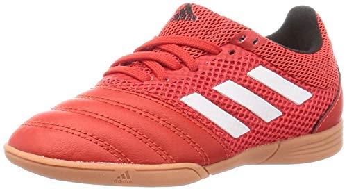 Adidas Copa 20.3 IN Sala J, Zapatillas Deportivas Unisex niños, Active Red/FTWR White/Core Black