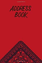 Red Hanky Address Book: Contact Information and Details For Your Mates, Online Pals and Others (Hanky Code Address Books)